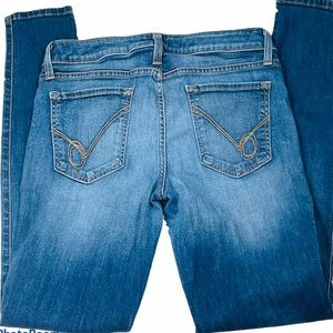 BeBe Medium Wash Stretch Denim Jeans